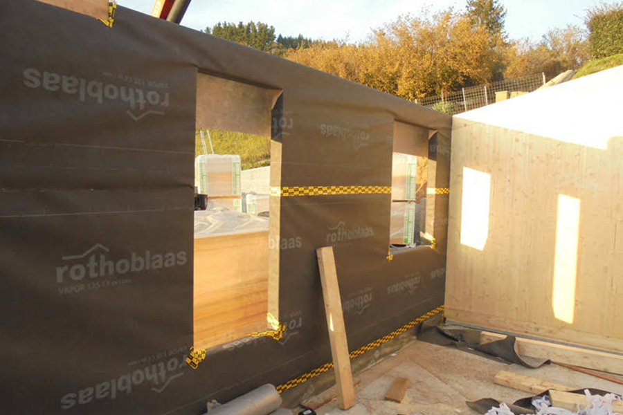 Construcciones de casas pasivas en Gijón